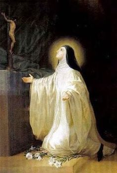Mystics of the Church: St. Lutgarde of Aywières -First known woman with the Stigmata