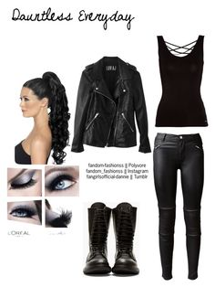 Dauntless Everyday by fandom-fashionss on Polyvore featuring polyvore, fashion, style, Morgan, BLK DNM, Rick Owens, clothing, casual, divergent, everyday and dauntless