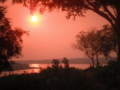 The Nile River. Taken from the Paraa Safari Lodge in Uganda. (This is My own Picture Taken from my camera)