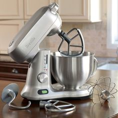 CHEFS Catalog - Breville 5-Quart Die-Cast Stand Mixer BEM800XL customer reviews - product reviews - read top consumer ratings