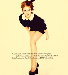 And that is why I love Emma Watson