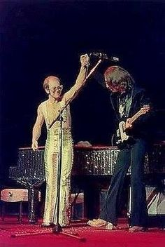 John Lennon & Elton -- Hit in early 70s