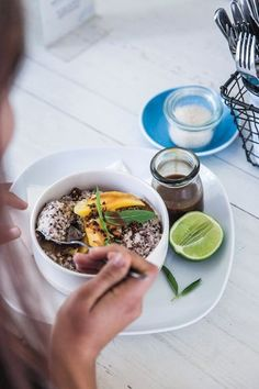 The most healthy and delicious recipes on Vogue Living: Coconut quinoa bircher from Ruby's Diner