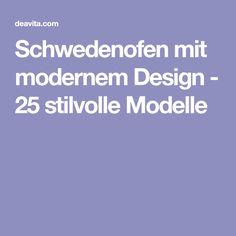 Schwedenofen mit modernem Design - 25 stilvolle Modelle
