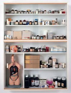 Sinner | Damien Hirst | Medicine Cabinets | 1988