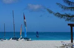 Sailboarding at Club Med, Turks and Caicos