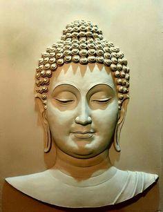 Discover thousands of images about Mural art Buddha Wall Art, Buddha Painting, Buddha Drawing, Buddha Artwork, Buddha Face, Buddha Zen, Clay Wall Art, Mural Wall Art, Murals