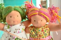 Emeline (green hair) gets the honorary first spot in our new blog series. Pictured here with her bff Priscilla. So sweet!