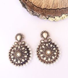 Eles estão novamente disponíveis 😍😍 #earings #pearl #fashion #freakumstore