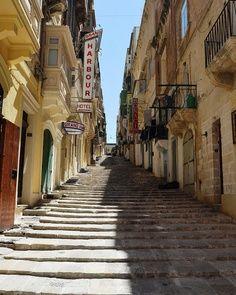 Street in Valletta, Malta  www.benestates.com