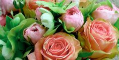 green bouquet Mday