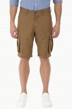 Carefree Twill Cargo Shorts