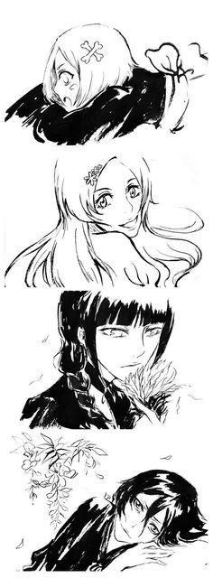 Bleach// Orihime inoue,Kusajishi Yachiru,Kurotsuchi Nemu and Rukia Kuchiki