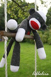 Free Crochet Sock Monkey Pattern via Ravelry