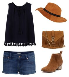 """Untitled #160"" by alarcobyalba on Polyvore featuring Violeta by Mango, IDA and Yves Saint Laurent"