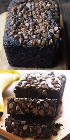 Chocolate Banana Bread The best banana bread recipe yet!You can find Chocolate recipes and more on our website.Chocolate Banana Bread The best banana bread recipe yet! Chocolate Banana Bread, Best Banana Bread, Banana Bread Recipes, Chocolate Recipes, Banana Bars, Dessert Chocolate, Chocolate Chocolate, Delicious Chocolate, Chocolate Lovers