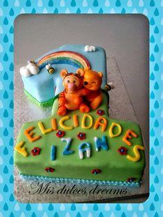 .: Tarta y galletas Winnie de Pooh