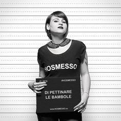 #HOSMESSO di pettinare le bambole, ora decido io! E tu, cos'hai smesso? http://www.social.hosmesso.eu  #tshirt #dark #toccaame #totalblack #ootd #pettinarelebambole