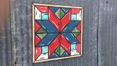 Quilt Pattern 4 DIY, Unfinished Wood Cutout, Paint by Line Barn Quilt Designs, Barn Quilt Patterns, Square Patterns, Quilting Designs, Painted Barn Quilts, Barn Signs, Barn Art, Star Quilt Blocks, Palette