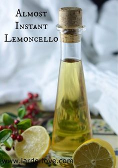 How To Make Lemoncello Almost Instantly!