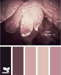 Dew Tones by Design Seeds Colour Schemes, Color Combos, Color Patterns, Colour Palettes, Design Seeds, Colour Board, World Of Color, Color Swatches, Color Pallets