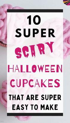 Scary Halloween Decorations, Halloween Desserts, Halloween Food For Party, Halloween Cupcakes, Halloween Birthday, Halloween Season, Devil Halloween, Creepy Halloween, Halloween Horror
