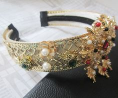 New Fashion Baroque Hair Jewelry Crystal Hairbands women Wedding Crown 1