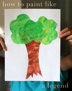 How to Paint Like Eric Carle by Sophistimom