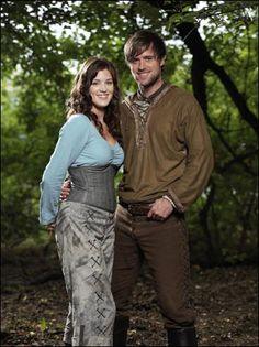 """Robin Hood and Marian of BBC's """"Robin Hood"""""""