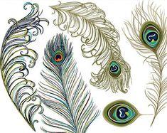 art nouveau peacock - Google Search