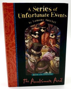 The Penultimate Peril A Series of Unfortunate Events Book 12 Lemony Snicket The Penultimate Peril, Unfortunate Events Books, Lemony Snicket, My Ebay, Book Covers, Shop, Kids, Children, Cover Books