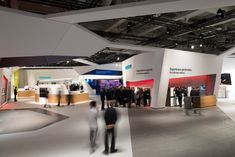 Siemens Home Appliances stand by KMS BLACKSPACE and SCHMIDHUBER, Berlin trade fairs