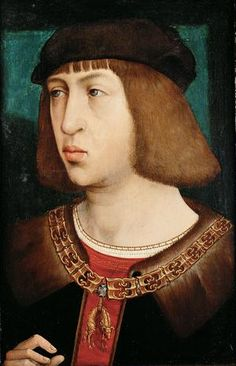 Philip the Handsome, son of Maximilian, Holy Roman Emperor, and Mary, Duchess of Burgundy. He married Juana of Castile.