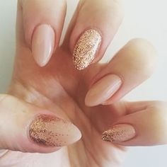 acrylic nails stiletto nude nails