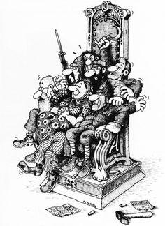 Gerhard Seyfried: Diktatur-des-Proletariats