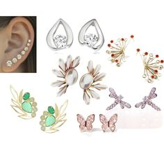 SG earrings by ketutar on Polyvore featuring Kendra Scott, Miyu, women's clothing, women's fashion, women, female, woman, misses and juniors