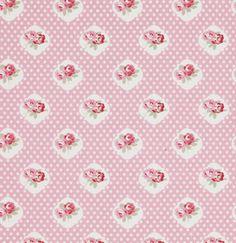 Petal PWTW059 Pink Sweetie Rose by Tanya Whelan for Free Spirit