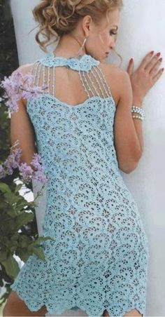 Crochet dress patterns for women photo - 10