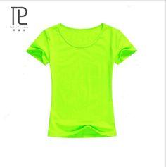 74591a87513 Summer Women t shirt Solid Cotton Short Sleeved Women s T-shirts Blank Tops tees  t