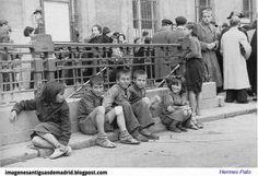 Año 1940 niños en la calle foto Hermes Pato