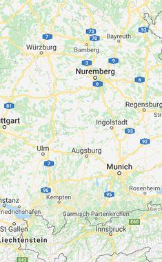 Germany-road-map.gif (734×983) | GERMANY | Pinterest | Germany ...