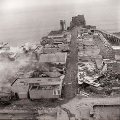 pacific ocean park in santa monica | Pacific Ocean Park Pier Fire 1970 | Flickr - Photo Sharing!