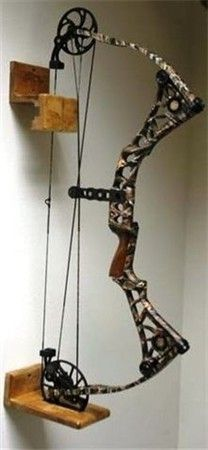 Pallet Bow Rack Put Something Like This On Your Front