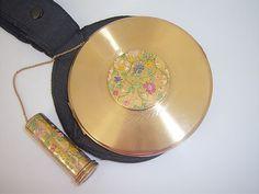 Vintage Rare Le Rage Wonder Vanity Case by compactsandstickers