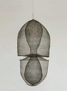 Testing the Waters, Kasia Ozga Kasia Ozga Shingles, Marty Jonas Marty Jonas Louise Unger nrhz Dennis Nahabetian Crafthaus . 3d Mesh, Metal Mesh, 3d Art, Art Textile, Textiles, Wire Art, Art Object, Art Plastique, Installation Art