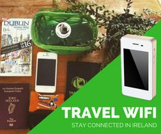 #154 Using Your Smartphone and Tablet in Ireland - Audio - Irish Fireside Travel and Culture