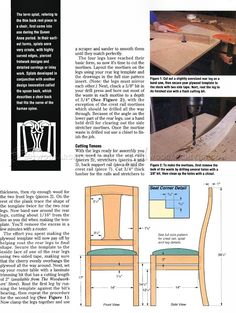 Cherry Dining Chair Plans - Furniture Plans and Projects - Woodwork, Woodworking, Woodworking Plans, Woodworking Projects Dinning Chairs, Dining, Woodworking Plans, Woodworking Projects, Home Jobs, Furniture Plans, Cherry, Floor Plans, How To Plan