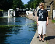 Octopus raglan looking 'scientist chic' at Regent's Canal