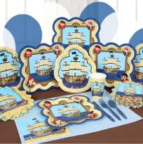 Ahoy! There's a baby on board. And you can have fun decorating a baby shower using a pirate theme. Go all out and have fun with it. You'll find...