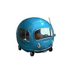 The Little Blue Car, the return  v2.0, Alex Blain on ArtStation at…